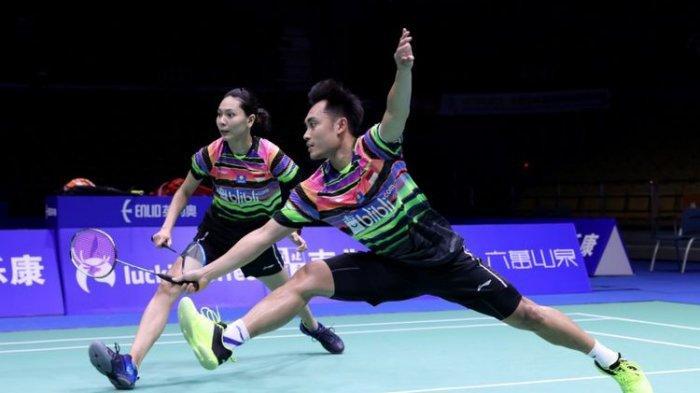 UPDATE HASIL Thailand Open 2021 - Lolos Perempat Final, Hafiz/Gloria Jaga Asa Juara Indonesia