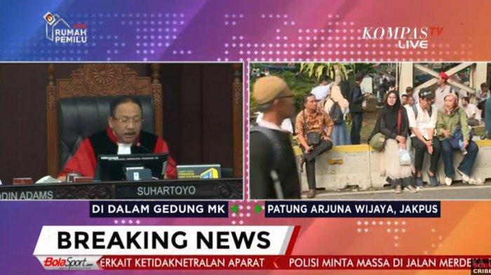 Sidang Putusan MK Pilpres 2019: MK Tolak Klaim Kemenangan Versi Prabowo - Sandiaga, Ini Alasannya