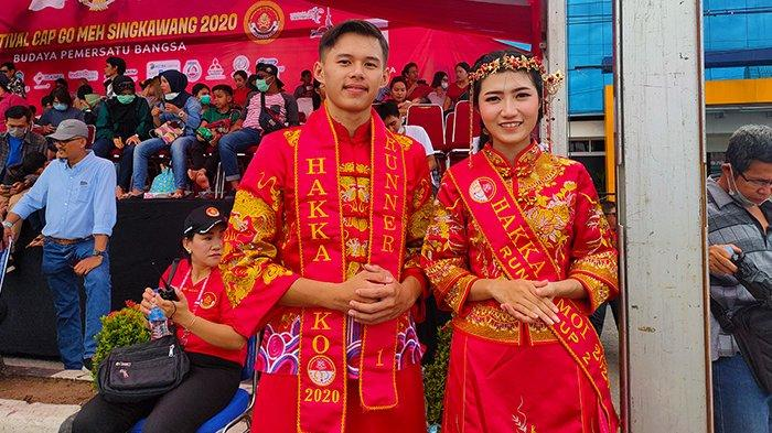 Hakka Koko dan Hakka Amoy Singkawang Antusias Saksikan Cap Go Meh