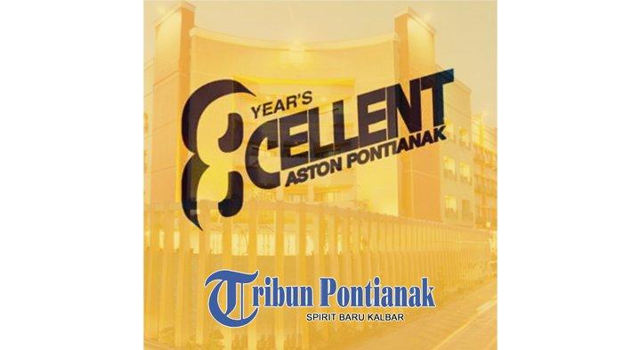 Pimpinan dan Staf Tribun Pontianak Mengucapkan Happy 8th Anniversary Aston Pontianak Hotel
