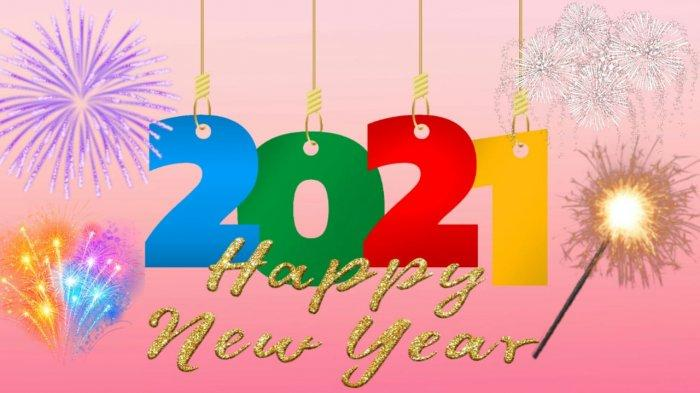 Terlengkap 100 Kata Mutiara Doa Ucapan Selamat Tahun Baru 2021 Bahasa Inggris Dan Indonesia Tribunnewsmaker Com