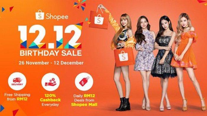 HARBOLNAS 2019 - Inilah Promo-promo 12.12 di Shopee, Gratis Ongkir Hingga Cashback 120 Persen