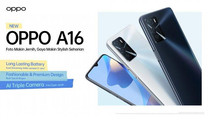 HARGA dan Spesifikasi OPPO A16, Hp Terbaru Oppo Berbaterai Jumbo Tapi Murah Meriah!