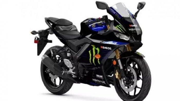 Harga Motor Yamaha YZF-R3 Monster Energy MotoGP Edition, Penampakan dan Spesifikasi