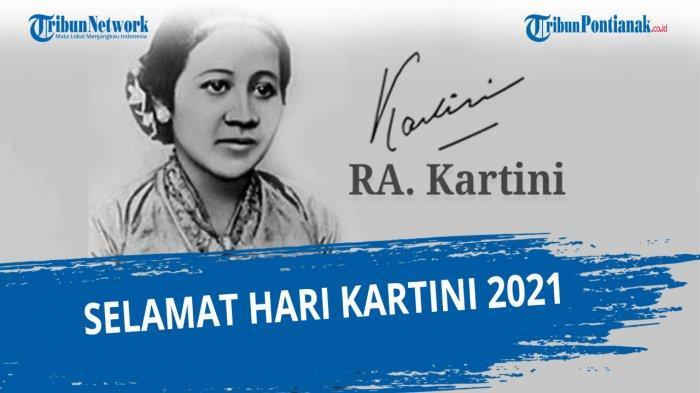 GAMBAR Ucapan Hari Kartini 2021 dan Kata-kata Selamat Hari Kartini 21 April 2021 Cocok untuk DP WA