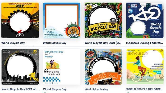 LINK TWIBBON Hari Sepeda Sedunia World Bicycle Day 3 Juni 2021! Bagikan WA Grup, FB dan IG