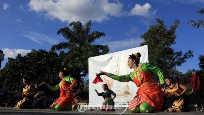FOTO: Aksi 600 an Penari Meriahkan Peringatan Hari Tari Dunia 2019 di Bundaran Digulis Pontianak - hari-tari-dunia-1.jpg
