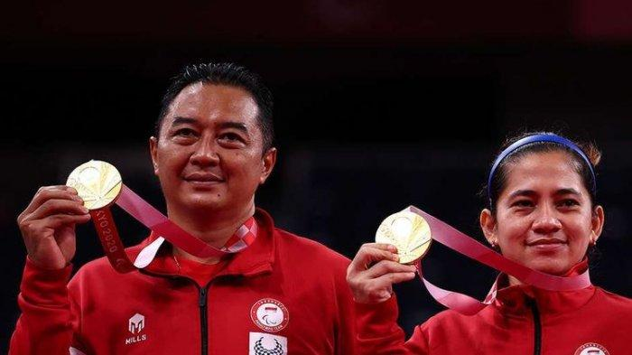 Profil Hary Susanto Peraih Medali Emas Badminton Paralimpiade Tokyo 2020 ! Cek Prestasi Hary Susanto