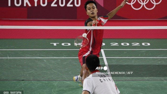 Hasil Akhir Anthony Ginting Kalah Lawan Chen Long Badminton Olimpiade, Asa Medali Perunggu Indonesia