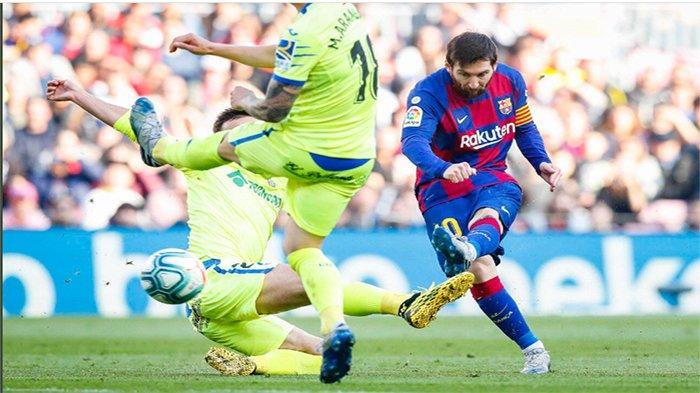 HASIL AKHIR Barcelona vs Getafe - Menang, Messi Cs Pepet Real Madrid di Klasemen Liga Spanyol