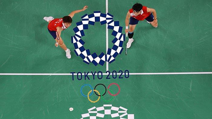 HASIL Akhir Bulutangkis Hari Ini Live Badminton Olimpiade Tokyo 2021, Ahsan/Hendra & Anthony Ginting