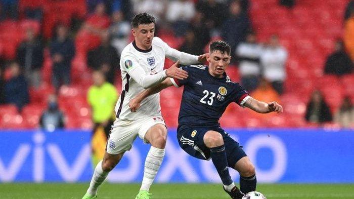 Hasil Akhir Inggris Vs Skotlandia EURO 2021 - Pertarungan Sengit Tiket 16 Besar di Klasemen Grup D