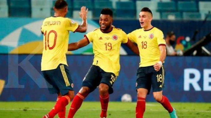Hasil Akhir Kolombia Vs Venezuela Copa America 2021 - Mandul Gol dan Penuh Drama