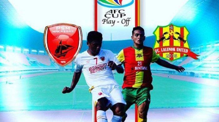 HASIL AKHIR PSM vs Lalenok - Diwarnai 2 Kartu Merah, Juku Eja Lolos Babak Utama Piala AFC 2020