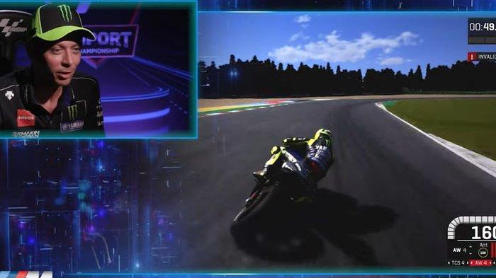 HASIL MotoGP Virtual 4 - Duo Marquez Berhasil Sudutkan Rossi