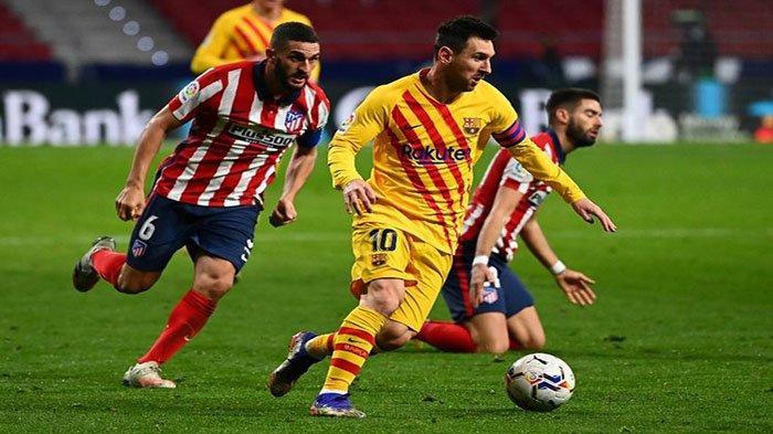 Hasil Akhir Barcelona vs Atlico Madrid di La Liga Kedua Tim Sama Kuat, Puncak Klasemen Terancam