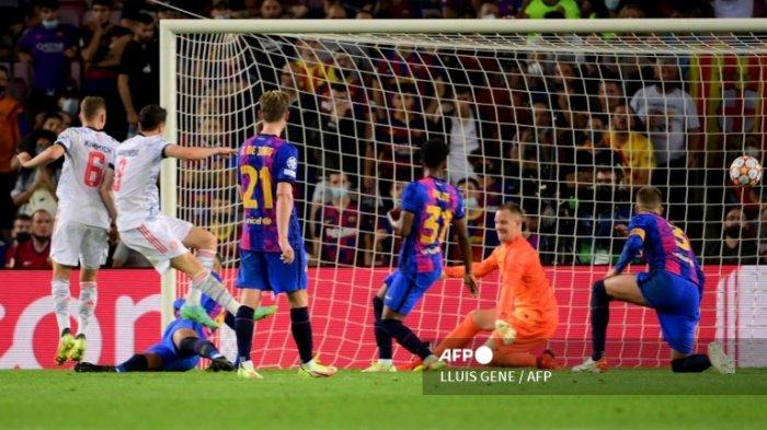 HASIL Barcelona Vs Munchen Update Skor Liga Champion   Tanpa Lionel Messi, Blaugrana Hancur Lebur!
