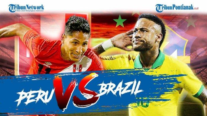 Hasil Brasil Vs Peru Copa America 2021 Live Indosiar - Link Live Score dan Klasemen Copa America