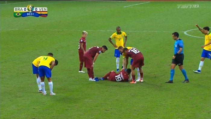 Hasil Brazil Vs Venezuela Skor Akhir 0-0 di Copa America 2019, Wasit Anulir Gol Coutinho