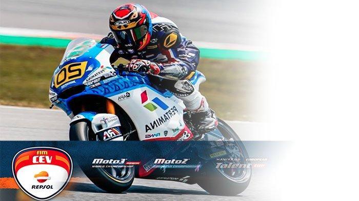 HASIL CEV Moto2 2021 Seri FIM CEV Moto2 Barcelona 2021, Posisi Finish Dimas Ekky Pratama Berapa ?