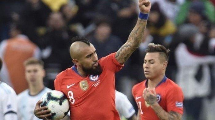 LIVE Score Chili vs Paraguay Jumat 25 Juni Update Skor Copa America 2021 Grup A