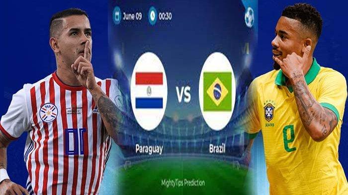 Hasil Paraguay vs Brazil Zona Conmebol Kualifikasi Piala Dunia 2022, Brazil Dipuncak Klasemen