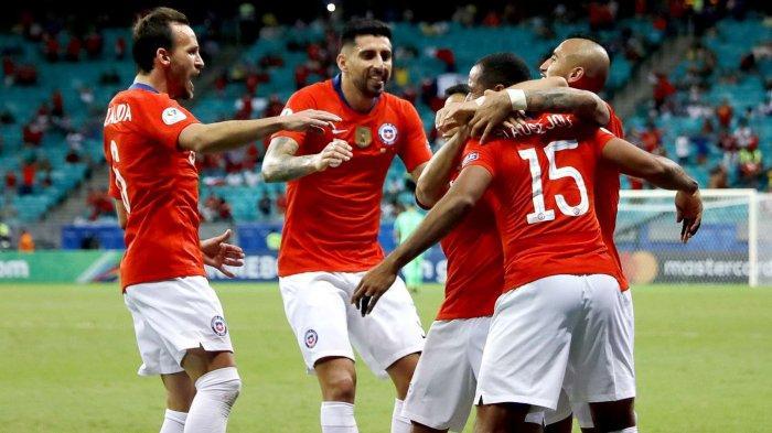 SKOR Peru Vs Chile Semifinal Copa America Sedang LIVE |  Alexis Sanchez Tatap Final Brazil Vs Chile