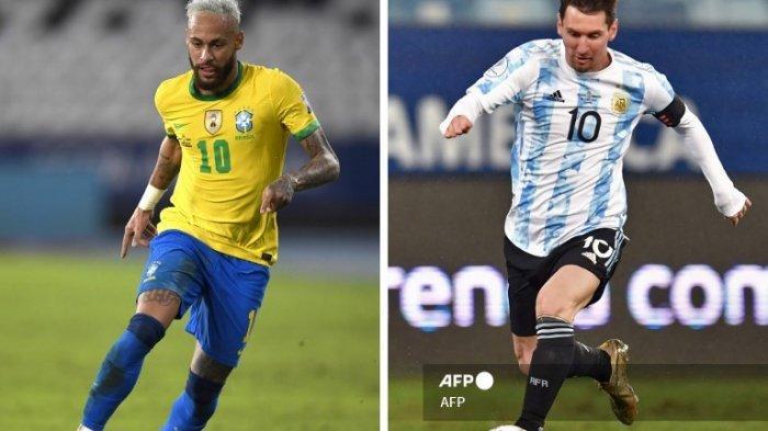 JUARA Hasil Copa America 2021 Brasil Vs Argentina Live Indosiar Pagi Ini Live Score Hasil Conmebol 2021