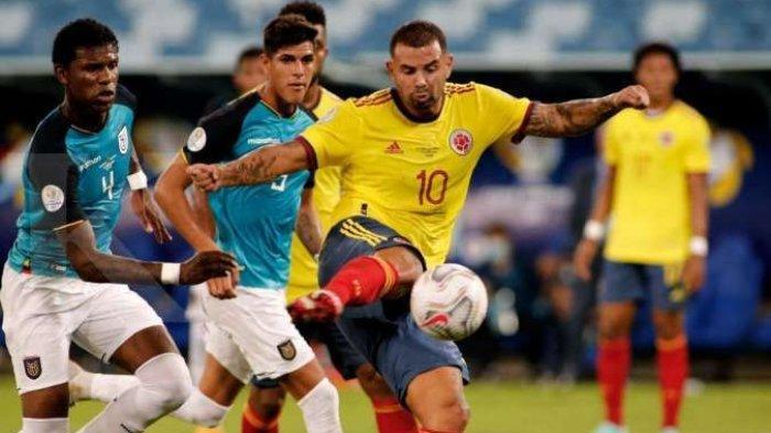Hasil Copa America 2021 Kolombia Vs Venezuela, Misi Salip Brasil di Klasemen Grup A Piala Amerika