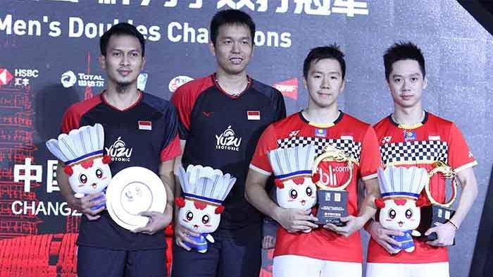 Rekor Pertemuan Minions vs Daddies, Rekap Hasil Semifinal dan Jadwal Final Indonesia Masters 2020