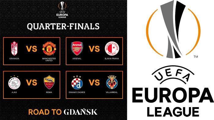 HASIL Drawing UEFA Europa League, AS Roma Vs Ajax di Hasil Drawing UEL Perempat Final | Man United ?