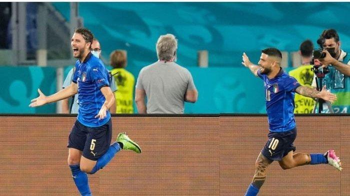 Daftar Top Skor EURO 2021 Terbaru Hari Ini - Dua Pemain Italia Bayangi Ronaldo dan Lukaku