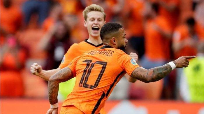 Hasil Euro 2021 - Austria Kalah, Belanda Melaju ke 16 Besar Piala Eropa 2021 Klasemen Grup C Terbaru