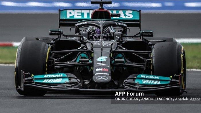 Hasil F1 GP Turki 2021 Live Hari Ini Minggu 10 Oktober - Lewis Hamilton Melesat di Grid Terdepan