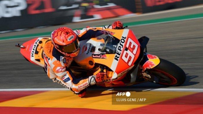 HASIL FP 4 MotoGP Hari Ini Update   Marc Marquez Tercepat Lagi di MotorLand Aragon 2021, Quartararo?