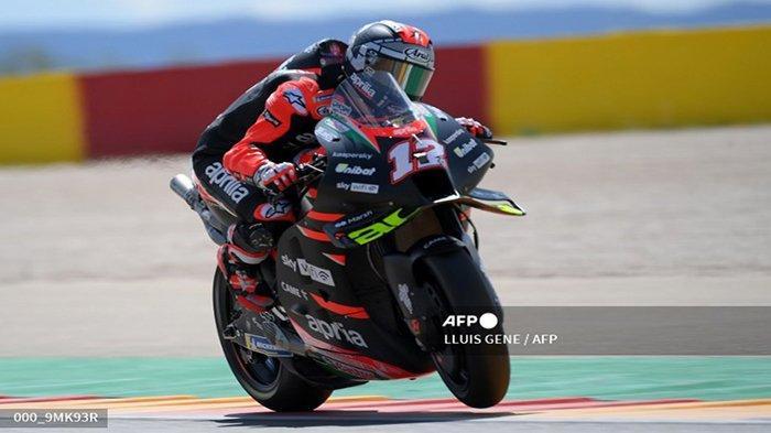 Hasil FP1 dan FP2 MotoGP Spanyol 2021 Balapan Seri ke-13 Gran Premio TISSOT de Aragón