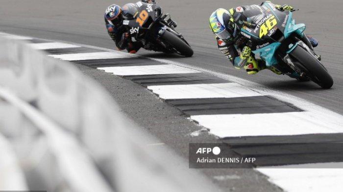 HASIL FP1 MotoGP Aragon 2021 Lengkap, Marc Marquez - Valentino Rossi Beda Nasib! Jake Dixon Buntut