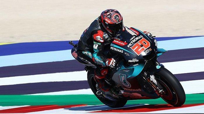 HASIL FP1 MotoGP San Marino 2019 - Fabio Quartararo Asapi Marquez, Perangkat Baru Rossi Gagal?