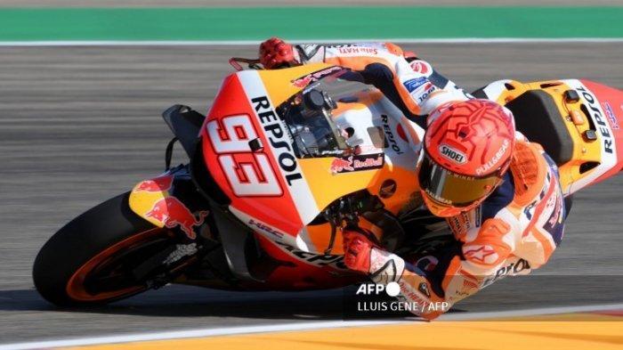 HASIL FP2 MotoGP Hari Ini 2021 Gp Aragon 2021 Update, Valentino Rossi Kalahkah Marc Marquez !