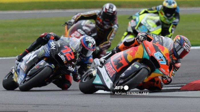 LINK LIVE Hasil Moto2 Malam Ini & Siapakah Juara Moto2 Aragon Spanyol 2021, Sam Lowes atau Gardner?