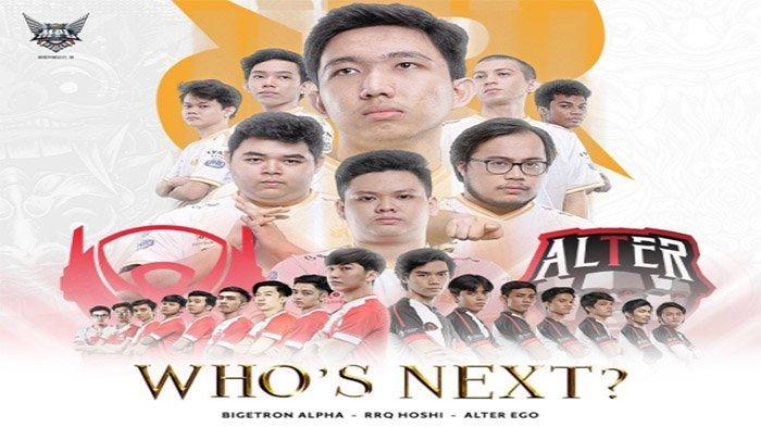 HASIL Grand Final MPL ID Season 6 - Bigetron Alpha Keok, Selangkah Lagi Alter Ego Vs RRQ Hoshi