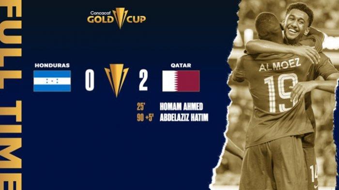 Hasil Honduras vs Qatar Piala Emas CONCACAF 2021 Hari Ini Rabu 21 Juli 2021