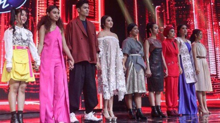 HASIL Indonesian Idol - 'Dance Monkey' Lagu Terakhir Agseisa Sebelum Tersingkir di Spektakuler Show
