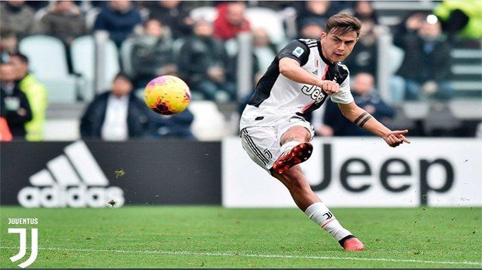 HASIL Juventus vs Brescia - Diwarnai Kartu Merah dan Gol Melengkung Dybala, Juve Unggul
