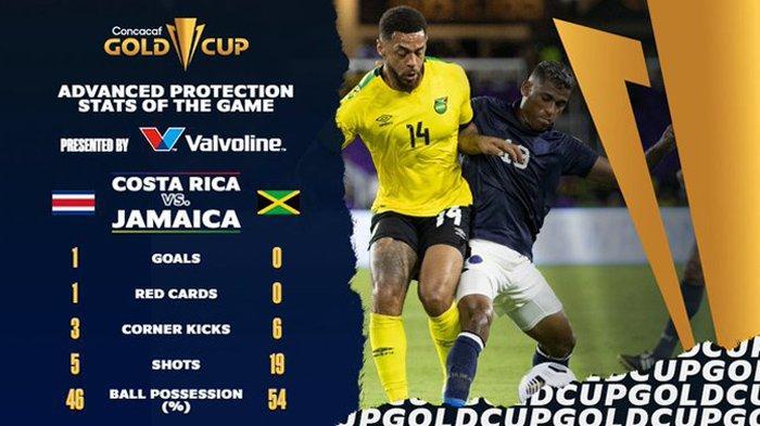 Hasil Kosta Rika vs Jamaika Piala Emas CONCACAF 2021 Hari Ini Rabu 21 Juli 2021