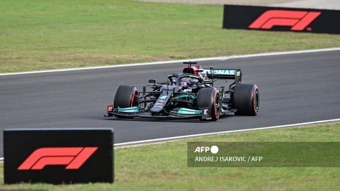 Hasil Kualifikasi F1 GP Turki 2021 Sabtu 9 Oktober - Kena Penalti, Cek Urutan Start Lewis Hamilton