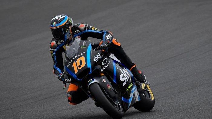 Hasil Kualifikasi Moto2 MotoGP Jepang 2019: Luca Marini Pole Position, Dimas Ekky Terus Berjuang