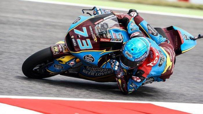 Hasil Kualifikasi Moto2 MotoGP Thailand 2019: Adik Marc Marquez Pole, Dimas Ekky Kembali Berjuang