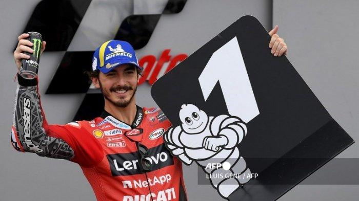 HASIL Kualifikasi MotoGP Aragon 2021 Lengkap, Francesco Bagnaia Pole Position   Cek Link Trans7 Live