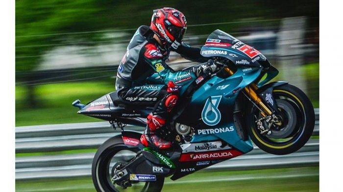 Hasil Kualifikasi MotoGP Spanyol 2019: Valentino Rossi Posisi 13 di Starting Grid, Quartararo Pole